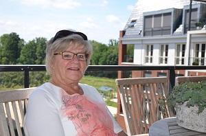 Toos van Gool zet zich actief in voor de Senioren Vereniging Moergestel.(Foto: Paul Spapens)
